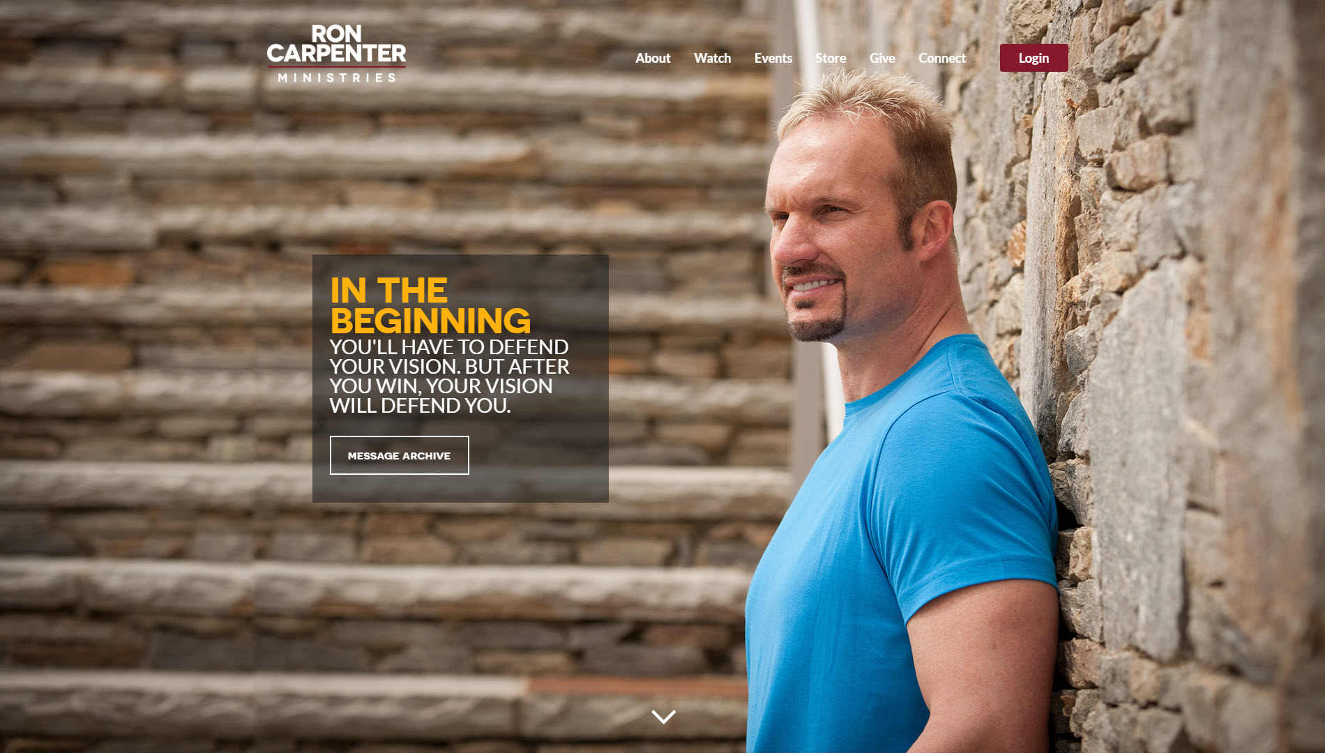 Ron Carpenter Ministries Homepage