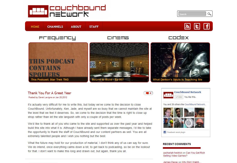 Couchbound Network 1