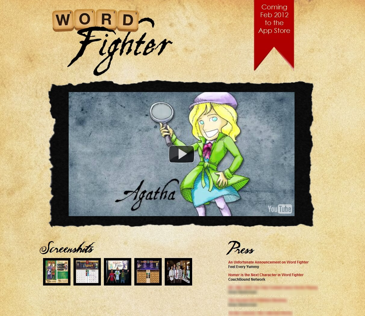 Word Fighter Homepage